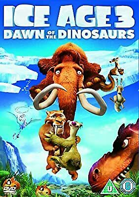 Ice Age 3: Dawn Of The Dinosaurs [DVD] [2009], , Used; Very Good DVD • 2.40£