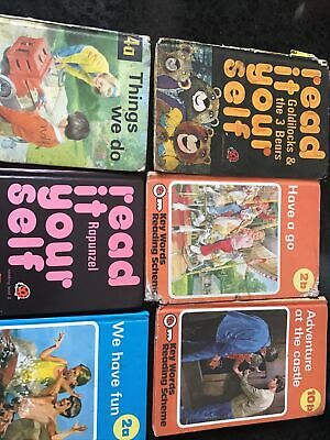 6 X Ladybird Read It Yourself , Various Levels And Ages • 4.99£