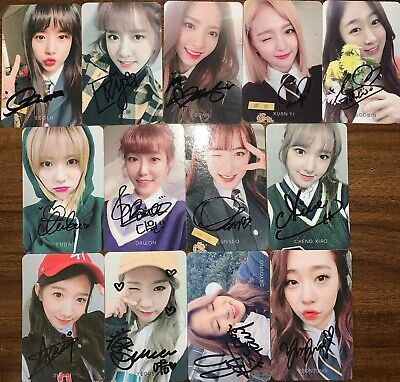 $ CDN56.82 • Buy WJSN [I WISH] Autographed Signed Broadcast Photocard Limited COSMIC GIRLS