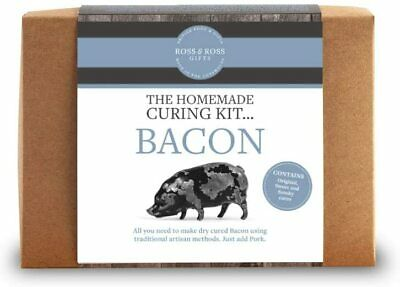 £29.99 • Buy Ross & Ross - The Homemade Curing Kit - Make Your Own Original Bacon