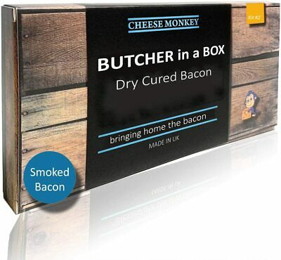 £10.99 • Buy Cheese Monkey Bacon Curing Kit (Smoked Bacon)