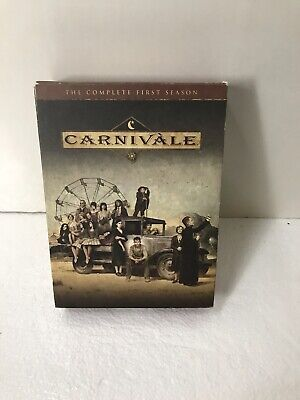 Carnivale - The Complete First Season (DVD, 2004, 6-Disc Set) • 8.59£