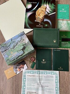 $ CDN125.55 • Buy ROLEX OYSTER Empy Box With Papers And Documents