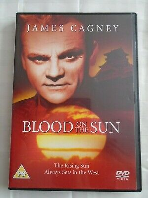 Blood On The Sun DVD, James Cagney 1940's Classic Film Based On True Events • 1£