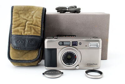 $ CDN506.27 • Buy CONTAX TVS Data Back 35mm Point & Shoot Film Camera With Case From Japan[N.Mint]