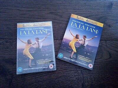 La La Land DVD - New And Sealed - With Slip Cover  • 3£
