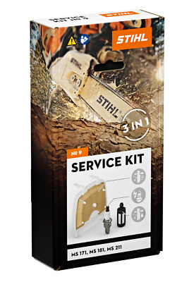 £17.99 • Buy Chainsaw Service Kit 9 For MS171, MS181 And MS211 Genuine STIHL PN 11390074100