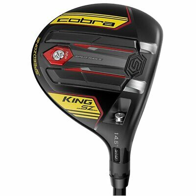 $ CDN151.50 • Buy Cobra King SpeedZone Black/Yellow 14.5* 3 Wood Regular Graphite Value