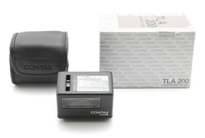 $ CDN340.89 • Buy 【MINT In Box】 Contax TLA 200 Black Shoe Mount Flash + Case For G1 G2 From JAPAN