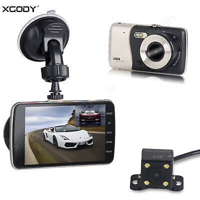 AU32.99 • Buy XGODY 4  1080P Car DVR Full HD Dual Lens Dash Cam Video Recorder Camera G-Sensor