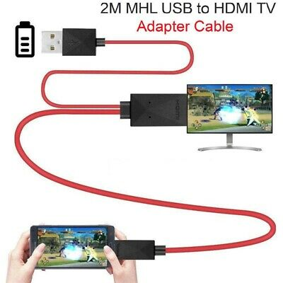 $ CDN12.29 • Buy MHL Micro USB To HDMI 1080P HD TV Cable Adapter For Android Samsung Phone