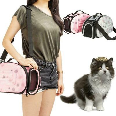 £9.99 • Buy Pet Dog Cat Rabbit Portable Travel Carrier Tote Cage Bag Crate Kennel Box Holder
