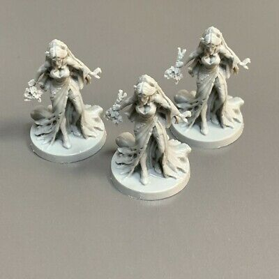 AU6.66 • Buy 3x Zombie Woman Miniatures Dungeons & Dragons D&D Board Game Model Figure Toy