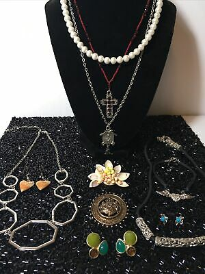 $ CDN28 • Buy Vintage To Modern Coatume Jewelry Lot, Pearls, Rhinestones, Brooches, Necklaces