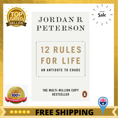 AU14.55 • Buy 12 Rules For Life: An Antidote To Chaos Jordan Peterson Paperback