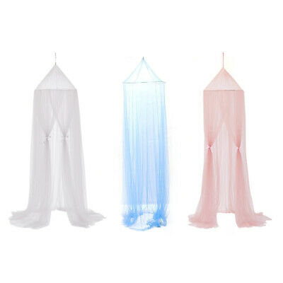 £6.87 • Buy Polyester Hanging Mosquito Net For Baby Princess Dome Bed Bed Canopy Bed UK
