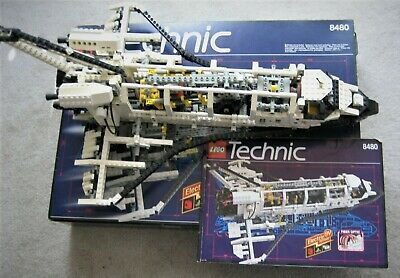 Vintage Lego Technic 8480 Space Shuttle / Submarine Set. Complete With Stickers • 47£