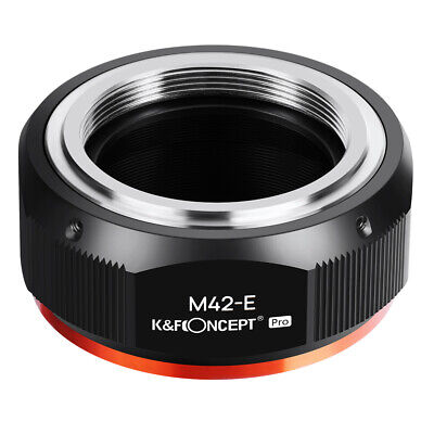 $24.69 • Buy K&F Concept Adapter Pro For M42 Screw Mount Lens To Sony E NEX Camera A6500 A7S
