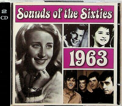 Time Life- Sounds Of The Sixties, Best 1963 Pop Rock Soul 2-CD (Lesley Gore Etc) • 14.99£