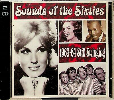Time Life- Sounds Of The Sixties 1963-64 Still Swinging 2-CD RARE Best 60s Pop • 34.99£