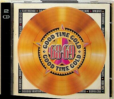 TIME LIFE Good Gold 68-69 - 1968-1969 The Best Of 2-CD (60s Beach Boys/Hollies) • 6.99£