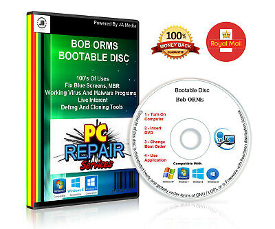 £2.29 • Buy HP System Recovery Boot Repair Factory Reset Non Booting Toolkit DVD