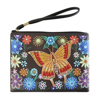 £7.37 • Buy DIY Special Shaped Diamond Painting Small Art Wallet Women Clutch Coin Bag  UK