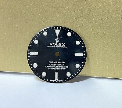 $ CDN675.87 • Buy .Authentic Rolex Submariner 16610 Glossy Black Dial #37