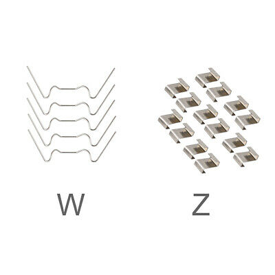 30pcs Accessories For Greenhouse W Z Type Glazing Clips Stainless Steel Portable • 3.34£