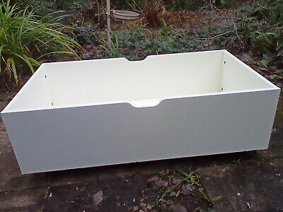 Underbed Storage Drawers On  Wheels With Solid Lids  X 2, Used • 35£