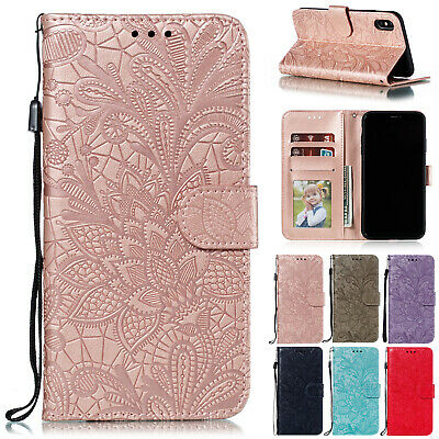 AU10.96 • Buy For IPhone 12 Pro Max 11 XS XR 8 7 Plus Magnetic Flip Leather Wallet Case Cover