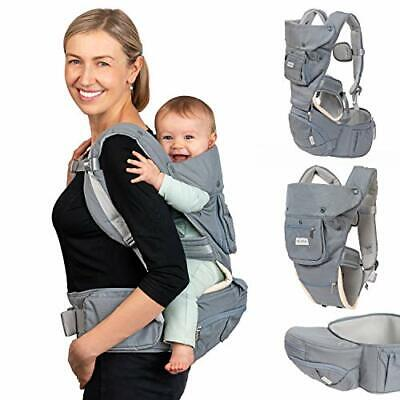 Dwelle Baby Carrier Sling Hip-Seat - Baby Carrier With Hip Seat And Waist • 56.99£