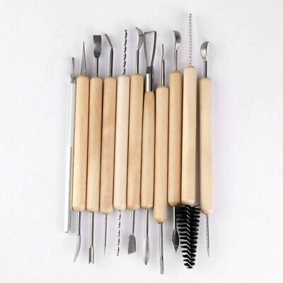 £5.29 • Buy 11PCS Polymer Clay Tools Set Modelling Sculpting Tool Pottery Model Art Projects