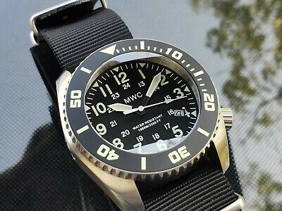 $ CDN509.52 • Buy MWC  Depthmaster  100atm / 3,280ft / 1000m Water Resistant Military Divers Watch