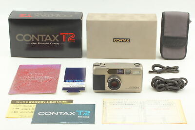 $ CDN1395.56 • Buy [Top MINT In BOX] Contax T2 Point & Shoot 35mm Compact Film Camera Case JAPAN
