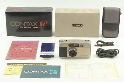 $ CDN1533.84 • Buy [Top MINT In BOX] Contax T2 Point & Shoot 35mm Compact Film Camera Case JAPAN