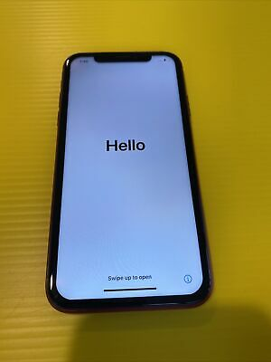 AU399 • Buy Apple IPhone XR (PRODUCT)RED - 64GB - (Great Condition) Australian Stock