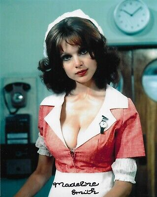 £18.99 • Buy Madeline Smith  HAMMER  Actress 10  X 8  Genuine Signed Autograph Rare 26349