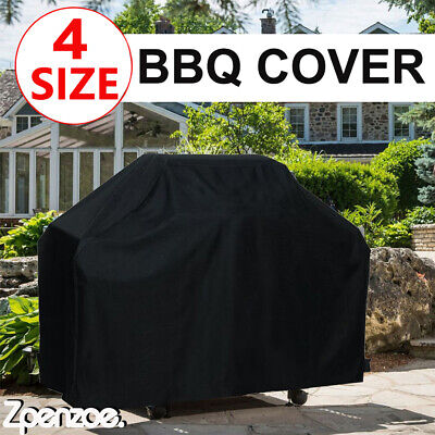 £10.59 • Buy BBQ Cover Heavy Duty Waterproof Gas Barbeque Grill Cover Multifunction Protector