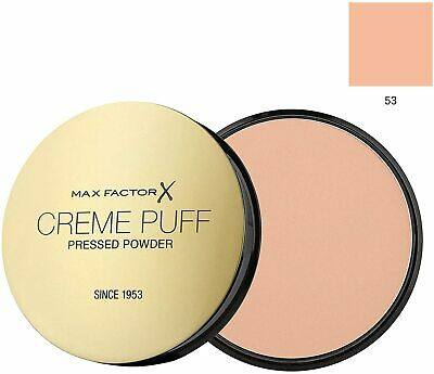 £5.05 • Buy Max Factor Creme Puff Compact Pressed Face Powder 21g *Choose Your Shade*