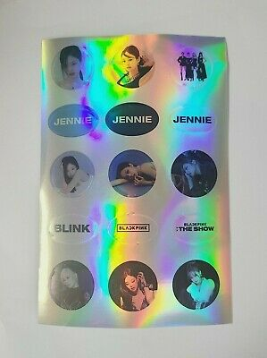 $ CDN9.67 • Buy BlackPink JENNIE Limited Sticker - Official Livestream Concert   THE SHOW