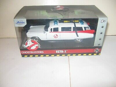 Jada Toys~ Ghostbusters  ECTO-1 ~Hollywood Rides~1:32~Die-Cast~2019~Brand New! • 21.67£