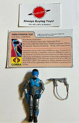 $ CDN37.81 • Buy 1985 Lampreys W/ File Card Complete GI Joe Figure