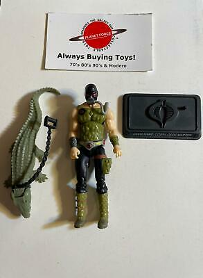 $ CDN18.88 • Buy Croc Master GI Joe 25th Anniversary Figure