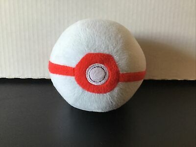 "Pokemon Poke' Premier Ball 5"" Plush 2017 TOMY • 7.23£"