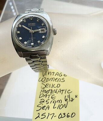 $ CDN35.27 • Buy Vintage Womens Seiko Sea Lion Dive Watch 2517 0369 Running 25mm 6 1/2""
