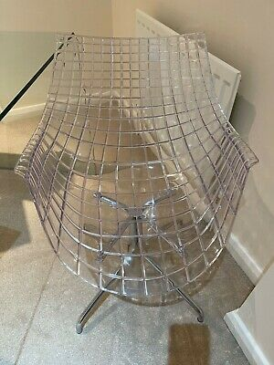 Clear Acrylic Chair, Excellent Condition • 25£