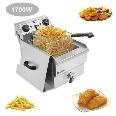 £76.99 • Buy 12L Electric Deep Fryer Fat Chip Commercial Restaurant Stainless Steel W/ Timer