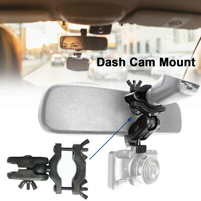 AU11.99 • Buy Car Interior Holder Universal Rearview Mirror Dash Cam Mount Auto Driving Stable