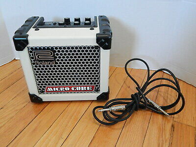 AU84.82 • Buy Roland Micro Cube Guitar Amplifier With Built In Effects & Tuner M-Cube-W